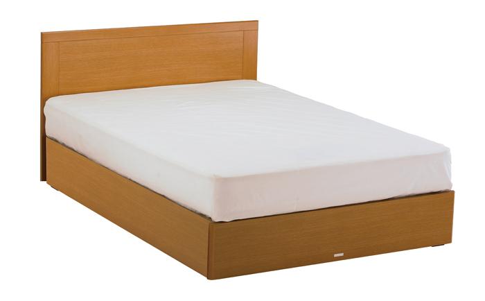 ASLEEP アスリープ ベッドフレーム ダブルサイズ マリン FY25G3DC ナチュラル 引出し無し アイシン精機 ベッド(代引不可)【送料無料】