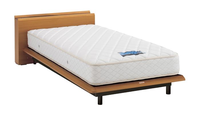 ASLEEP アスリープ ベッドフレーム セミダブルサイズ テーベ FY6222EC ナチュラル 脚付き アイシン精機 ベッド(代引不可)【送料無料】【int_d11】