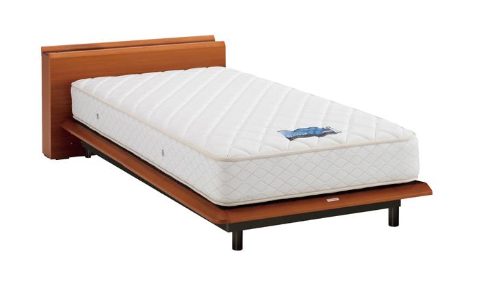 ASLEEP アスリープ ベッドフレーム スモールシングルサイズ テーベ FY623SEC チェリー 脚付き アイシン精機 ベッド(代引不可)【送料無料】
