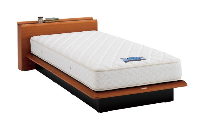 ASLEEP アスリープ ベッドフレーム セミダブルサイズ テーベ FY9232EC チェリー 引出し無し アイシン精機 ベッド(代引不可)【送料無料】