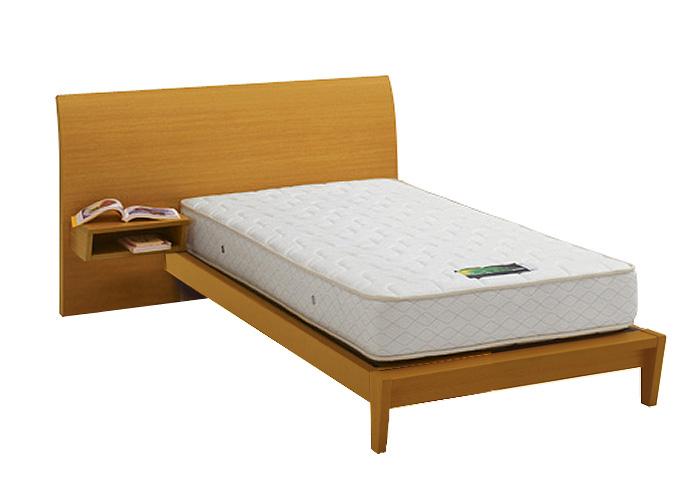 ASLEEP アスリープ ベッドフレーム シングルサイズ ロマノフ FS4PYEDC ナチュラル 脚付き・テーブル付 アイシン精機 ベッド(代引不可)【送料無料】