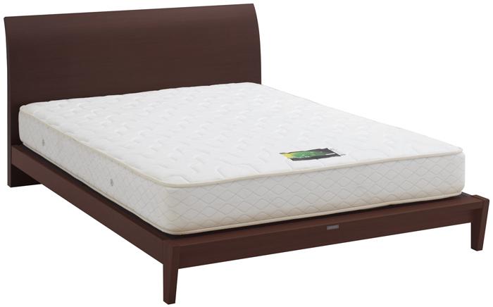ASLEEP アスリープ ベッドフレーム セミダブルサイズ ロマノフ FS6PY2DC ミディアムブラウン 脚付き アイシン精機 ベッド(代引不可)【送料無料】