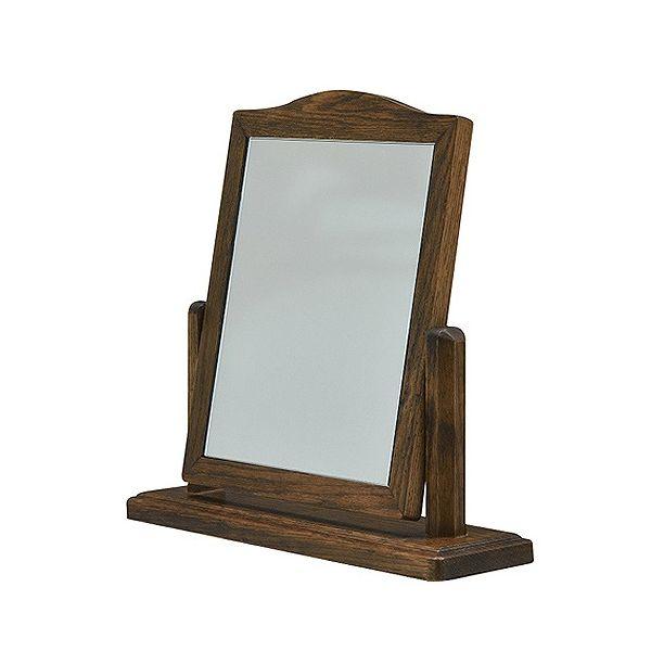 ミキモク 鏡 ミラー アビーロード ダークブラウン ALMI-420 RLB(代引不可)【送料無料】