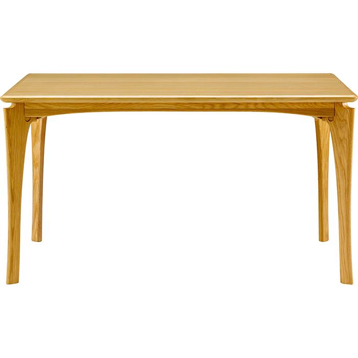 本州・四国は開梱設置無料 ボスコプラス ネスタ ダイニングテーブル 130cm ナチュラル DT84004Q-PN800(代引不可)【送料無料】
