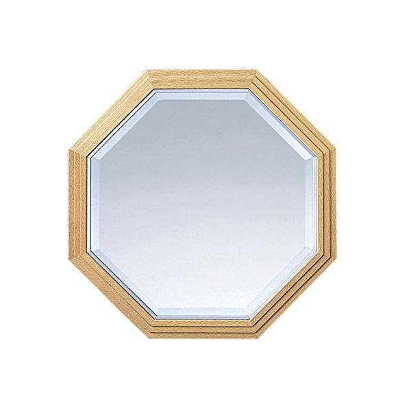 塩川光明堂 国産 ウォールミラー ビーチ No.2 吊鏡 ミラー 鏡(代引不可)【送料無料】【S1】