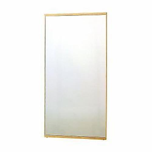 塩川光明堂 国産 立掛けミラー コムミラー 002 NO ナチュラル ミラー 鏡(代引不可)【送料無料】【S1】