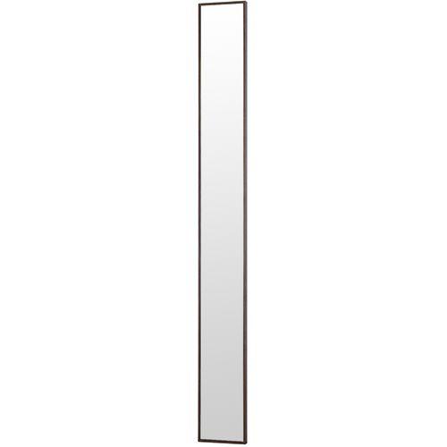 塩川光明堂 国産 ウォールミラー フィル スリム1800DB ダークブラウン ミラー 鏡(代引不可)【送料無料】