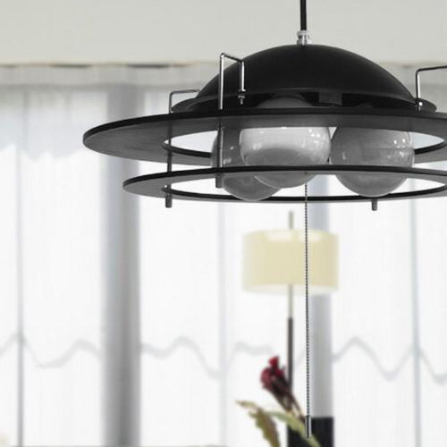 ペンダントライト Rings wood7(リングスウッド7) 3灯照明 【送料無料】【int_d11】