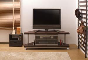 コーナーテレビ台 120cm幅 NJ-0025 日本製【送料無料】【日本製】