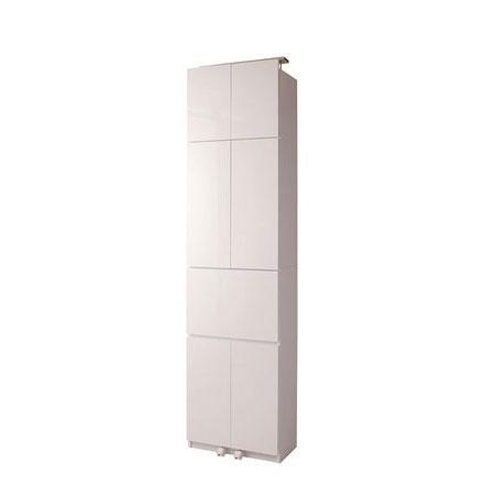 壁面収納 デスクタイプ 60cm幅 ホワイト色【送料無料】【storage0901】