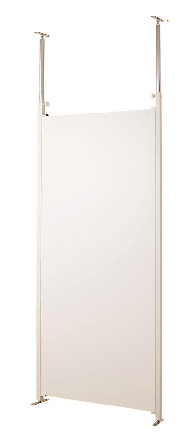 突っ張りパ-テ-ションボ-ド幅90cm 本体用 ホワイト【送料無料】