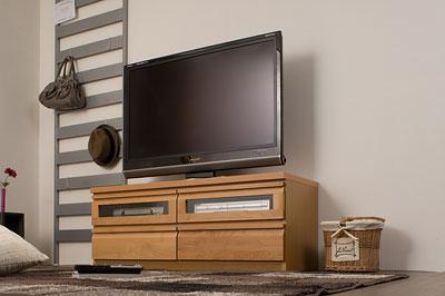 アルダーコーナーTVユニットシリーズ 幅120cm ナチュラル【送料無料】【tvboard0901】