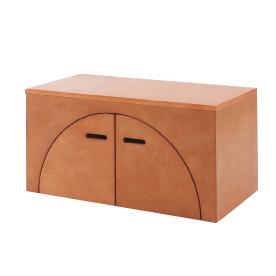 アークボックス メープル材 ライトブラウン色(代引不可)【送料無料】【storage0901】