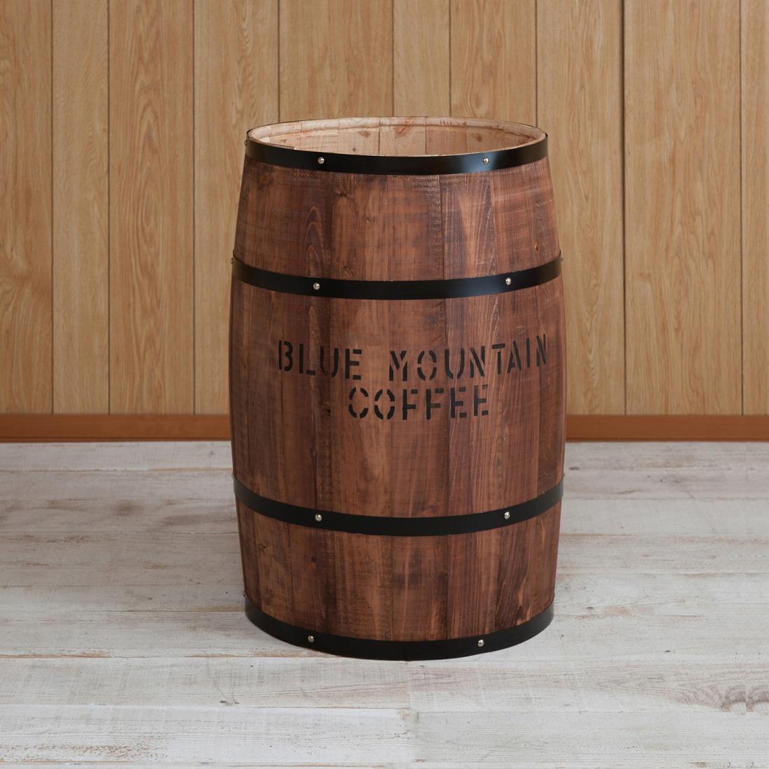 国産木樽 特大サイズ ブラウン たる タル 木樽 プランター ウッド 木製 小物入れ インテリア おしゃれ かわいい 雑貨(代引不可)【送料無料】