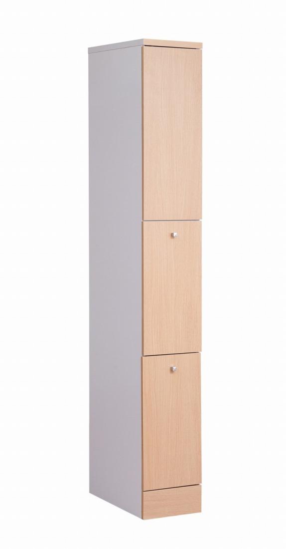 キッチンシリーズNeat スリム 2分別 幅25 ナチュラル(代引不可)【送料無料】【storage0901】