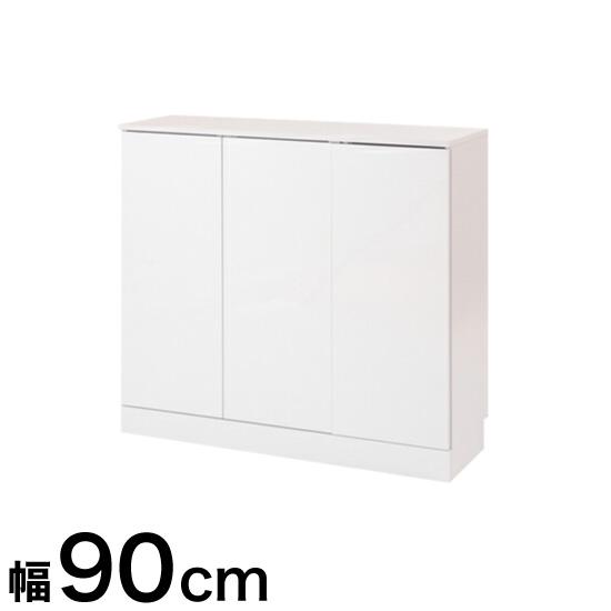 キッチンシリーズFace カウンター下収納 扉 幅90 ホワイト(代引不可)【送料無料】