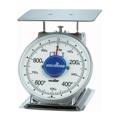 ワールドボス WORLD BOSS ステンレス製 上皿自動秤 SAVIない サビナイ 1kg(代引不可)【送料無料】