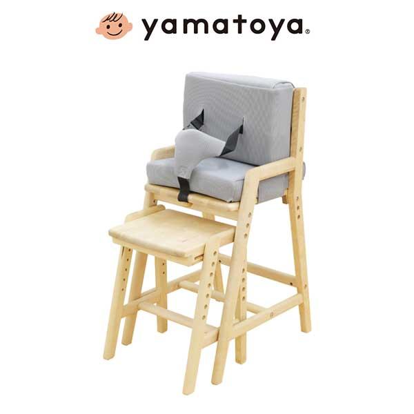 大和屋 Yamatoya マッチーズ ハイチェア 大和屋 ベビーハイチェア マッチーズ 木製 ナチュラル おしゃれ(代引不可)【送料無料】