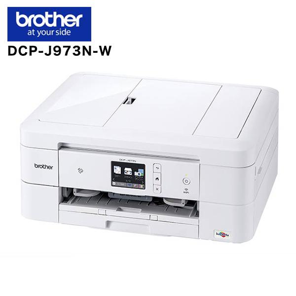 ブラザー brother A4インクジェット複合機 PRIVIO DCP-J973N-W【送料無料】