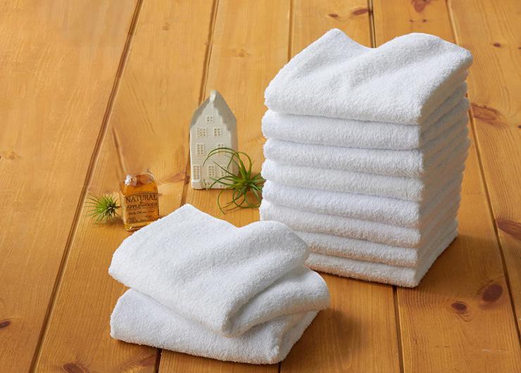 大阪泉州産業務用白タオル 60枚組 サイズ約34x84cm 1枚63g タオル 業務用(代引不可)【送料無料】