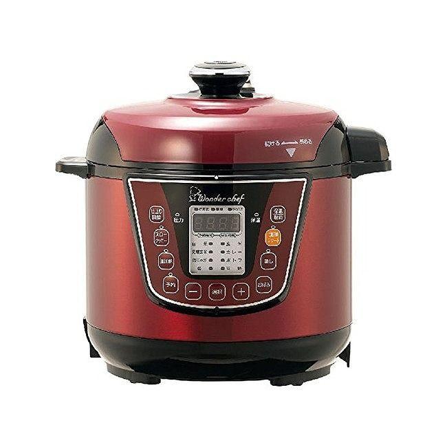 ワンダーシェフ 家庭用マイコン電気圧力鍋 3L OEDA30(代引不可)【送料無料】