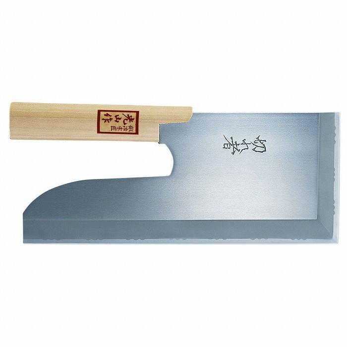 豊稔企販 切れ者ステン金号麺切包丁 300mm A-1058【送料無料】