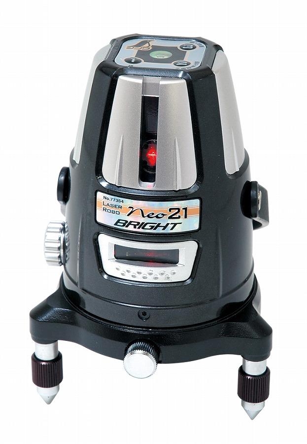 シンワ測定 レーザーロボ Neo 21 BRIGHT 縦・横・地墨 77354【送料無料】