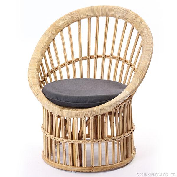 ラタン パーソナルチェア Breeze シリーズ C280NWM 家具 インテリア イス 椅子 パーソナルチェア 1人掛け 籐 ラタン (代引不可)【送料無料】