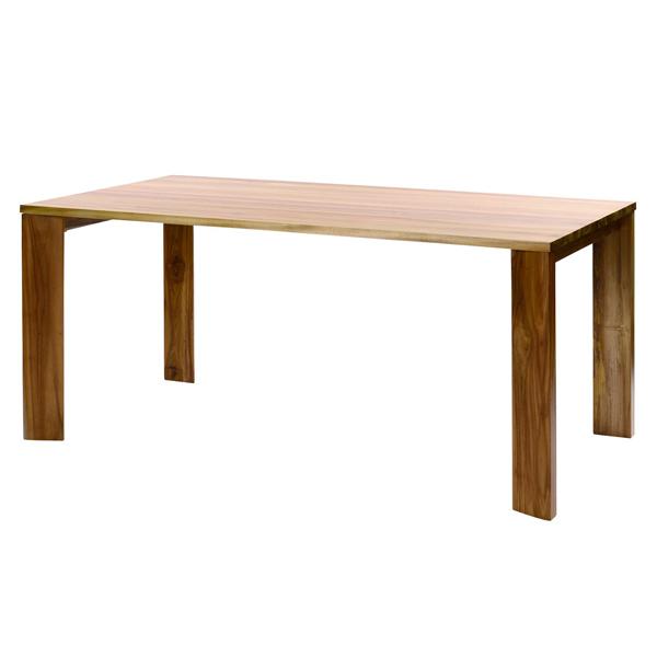 100周年記念モデル IDENTITY チーク製 ダイニングテーブル インテリア テーブル 食卓 ダイニング チーク 木製(代引不可)【送料無料】