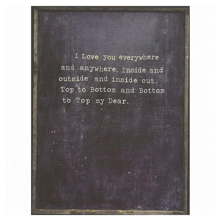 I Love You Everywhere SUGARBOO AP215-GW-2x3(代引不可)【送料無料】