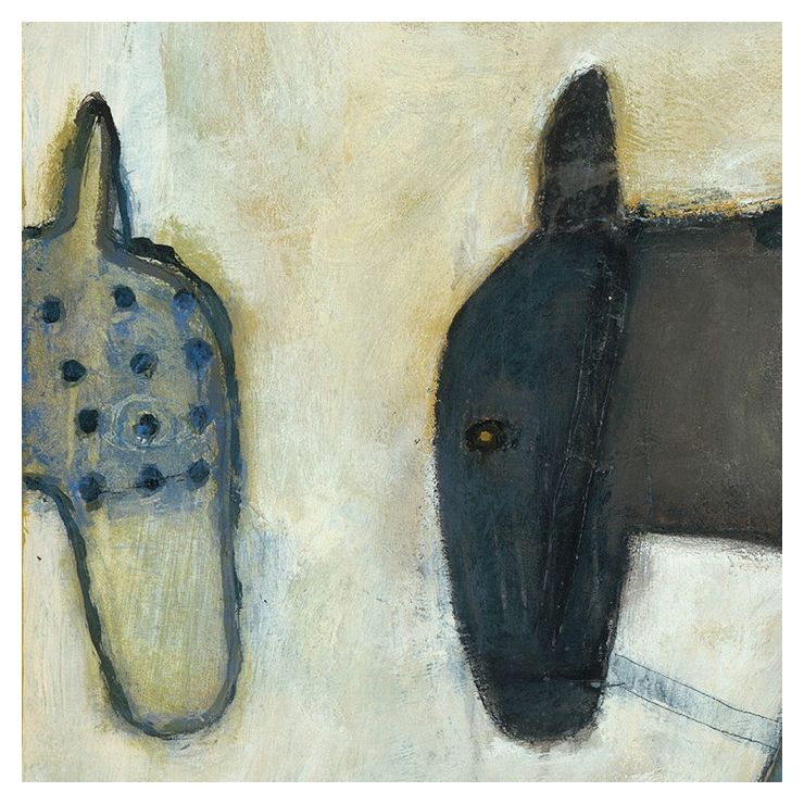 Two Horse Heads SUGARBOO SP115-12x12inch(代引不可)【送料無料】