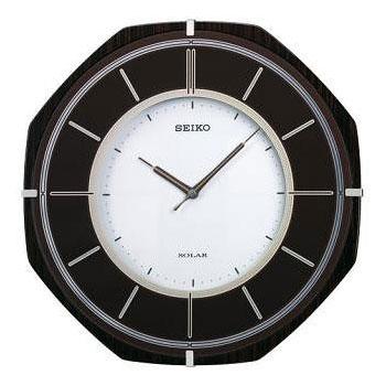 セイコーソーラー電波掛時計 SF502B【送料無料】(代引き不可)【S1】