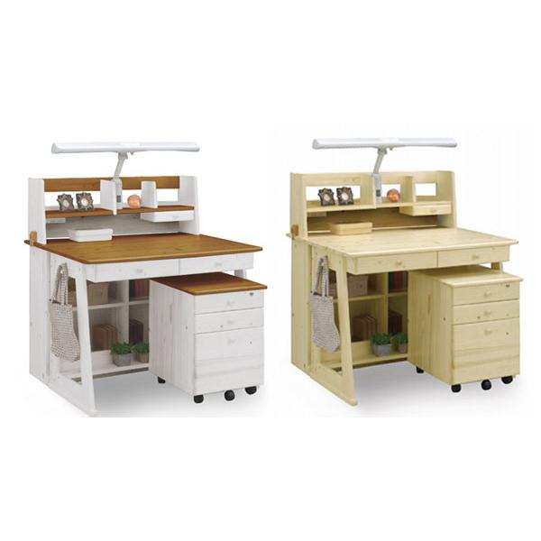 学習デスク ハンス 学習机 勉強机 勉強デスク 家具 机 テーブル デスク 関家具(代引不可)【送料無料】