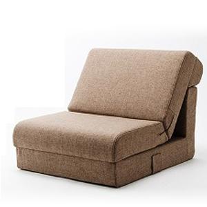 日本製 国産 ソファベッド 折りたたみ 寝心地 快適 座椅子 コンパクト 「和楽の千鳥1P」 1人掛 ソファ ベッド A429-S-1P(代引不可)【送料無料】