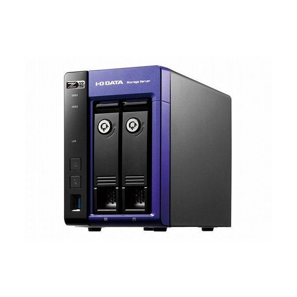 超熱 アイ・オー・データ機器 Windows Server IoT 2019 for Storage Standard Celeron搭載2ドライブNAS 2TB HDL2-Z19SCA-2(), いいもん 47542116