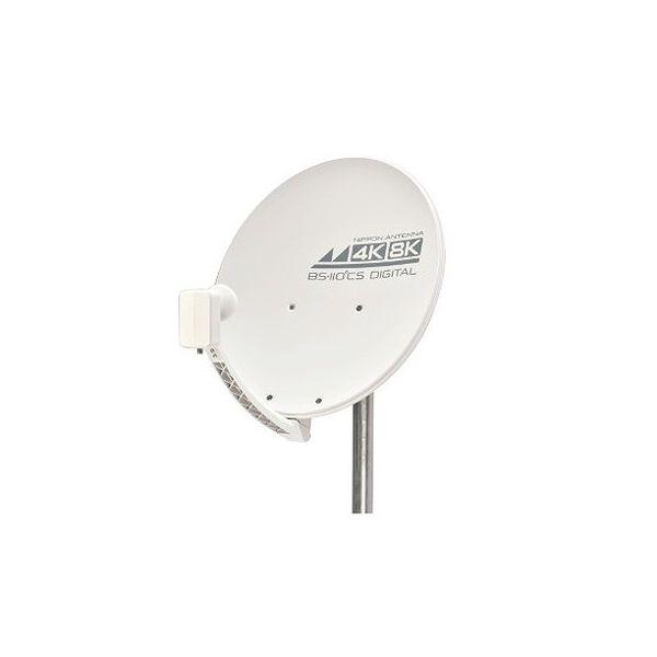 日本アンテナ 4K8K対応 マート BS 45SRL 110℃Sアンテナ 代引不可 メーカー再生品