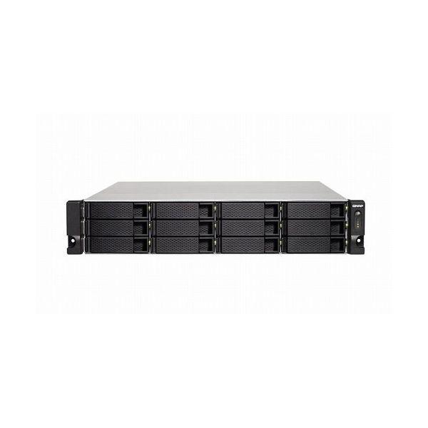 QNAP TS-1232XU-RP-4G 72TB搭載モデル 2Uラック型 NAS ニアラインHDD6TBx12 TS-1232XU-RP 72TB-U()