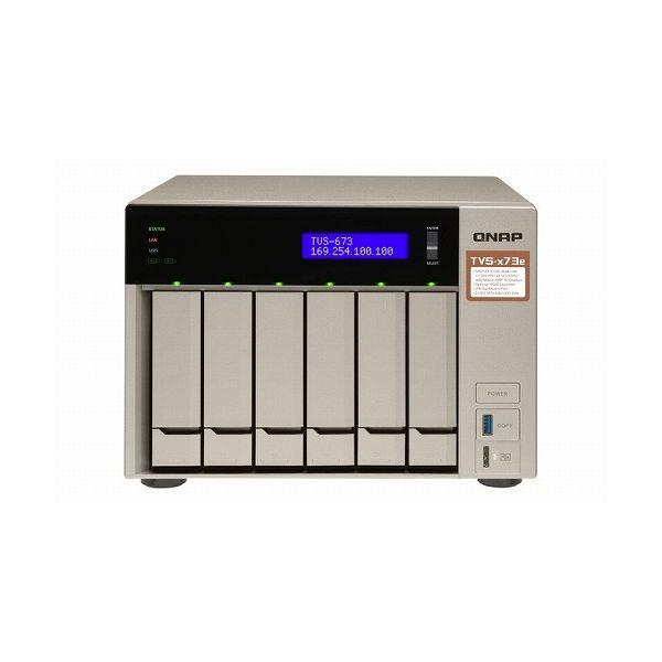2021年新作入荷 QNAP TVS-673e-8G 36TB搭載モデル(タワー型 HDD6TBx6個搭載) NAS TVS-673E HDD6TBx6個搭載) 36TB-A() TVS-673E 36TB-A(), ヤマナカフーズ:ee3c5d7c --- easassoinfo.bsagroup.fr