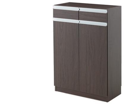キッチンカウンター 収納 カウンター下収納 エール60H BR(代引き不可)【送料無料】【storage0901】