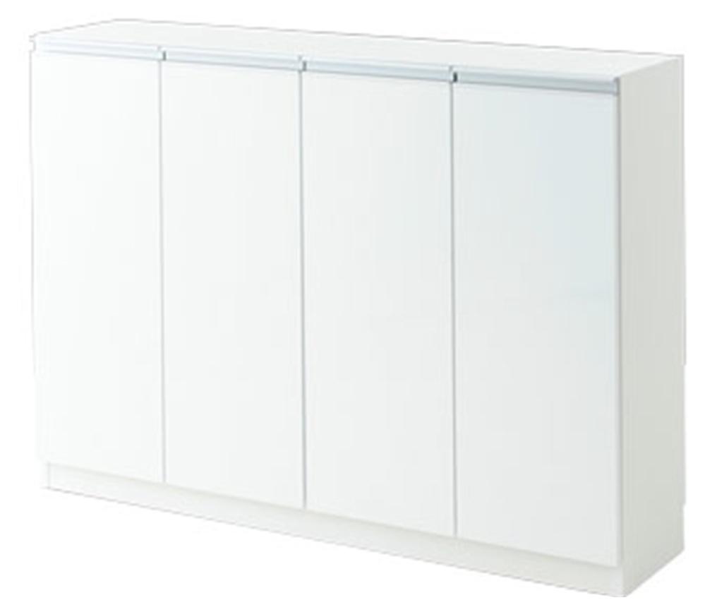 キッチンカウンター 収納 カウンター下収納 エール120D WH(代引き不可)【送料無料】【storage0901】