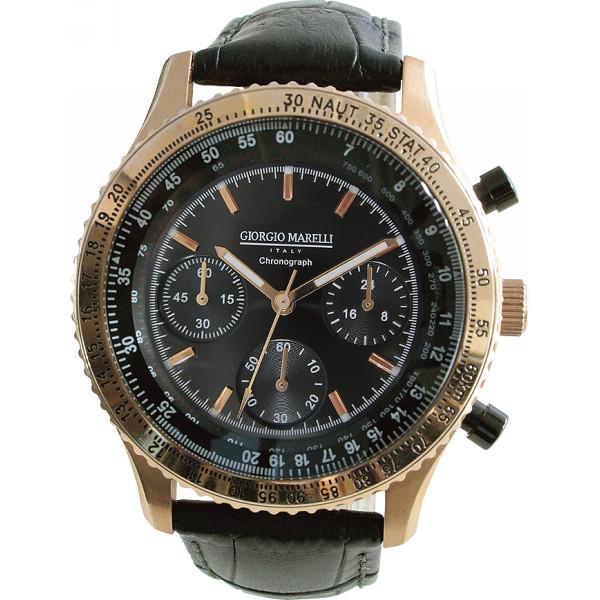 ジョルジョマレリー メンズ腕時計 装身具 紳士装身品 紳士腕時計 GMG-006(代引不可)【送料無料】