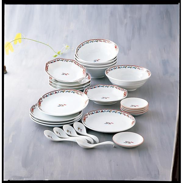 MR.BOSS チンタオ 25ピース中華ホームセット 和陶器 和陶バラエティー ホームセット SYA‐065(代引不可)【送料無料】