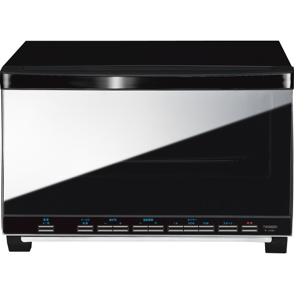 ツインバード ibistory ミラーガラスオーブントースター 電化製品 電化製品調理機器 オ-ブント-スタ- TS-4057B(代引不可)【送料無料】