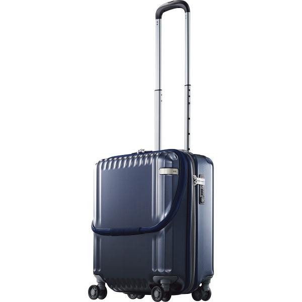 ace. エース フロントオープンスーツケース 36L ネイビーカーボン パリセイドZ カバン バッグトラベル ス-ツケ-ス 05581-03(代引不可)【送料無料】