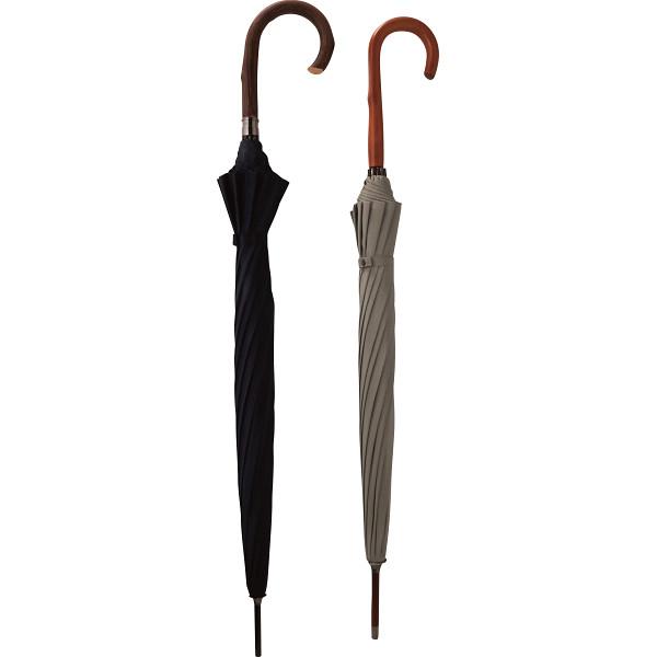 匠 有村 職人の手作り 紳士 婦人晴雨兼用長傘セット ウグイス 雨具 長傘 婦人長傘 OBAR-12GST(代引不可)【送料無料】