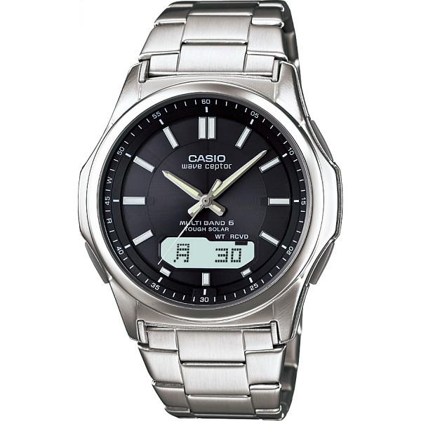 WAVECEPTOR カシオ 電波ソーラー腕時計 装身具 紳士装身品 紳士腕時計 WVA-M630D-1AJF(代引不可)【送料無料】