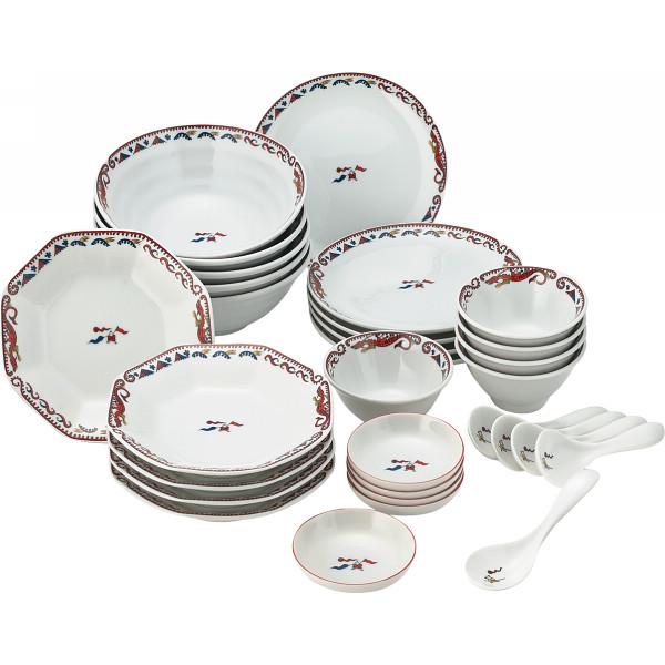 MR.BOSS チンタオ 30ピース中華ホームセット 和陶器 和陶バラエティー ホームセット 243(代引不可)【送料無料】
