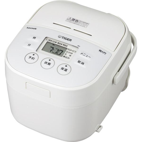 タイガー マイコン炊飯ジャー(3合) ホワイト 電化製品 電化製品調理機器 炊飯器 JBU-A551W(代引不可)【送料無料】