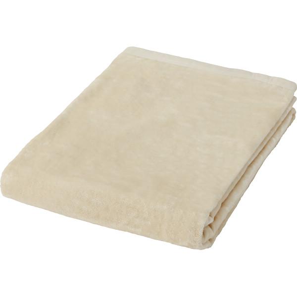 シール織シルク毛布(毛羽部分) 寝装品 毛布 シルク毛布 SMM-202(代引不可)【送料無料】