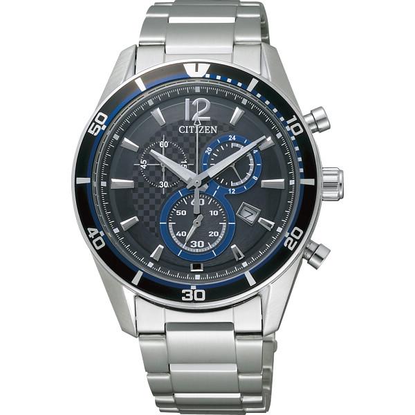 シチズン メンズ腕時計 ブルー 装身具 紳士装身品 紳士腕時計 VO10-6741F(代引不可)【送料無料】, 中古ラケットワールド:16489a86 --- kanazuen-club-l.jp